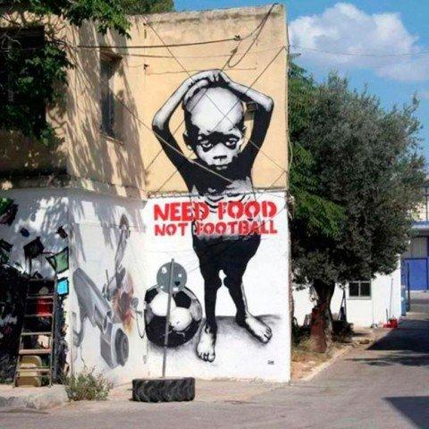 Grafite brasileiro e a insatisfação com a Copa do Mundo