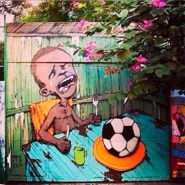 Grafite brasileiro e a insatisfação com a Copa do Mundo (7)