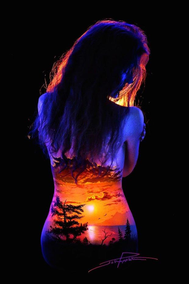 Mulheres e tintas fluorescentes (10)