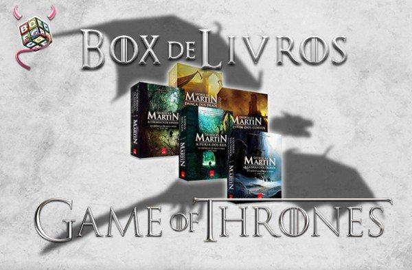 Sorteio box Game of Thrones