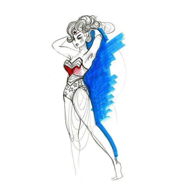 Super-Herois em aquarelas (13)