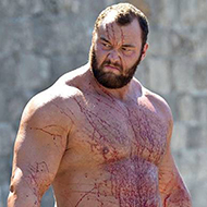 The Mountain, de Game of Thrones, levantando 450kg no Deadlift