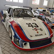 Coleção de Porsches