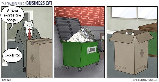 As aventuras do Gato Executivo (10)