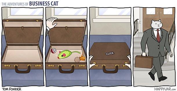 As aventuras do Gato Executivo (2)