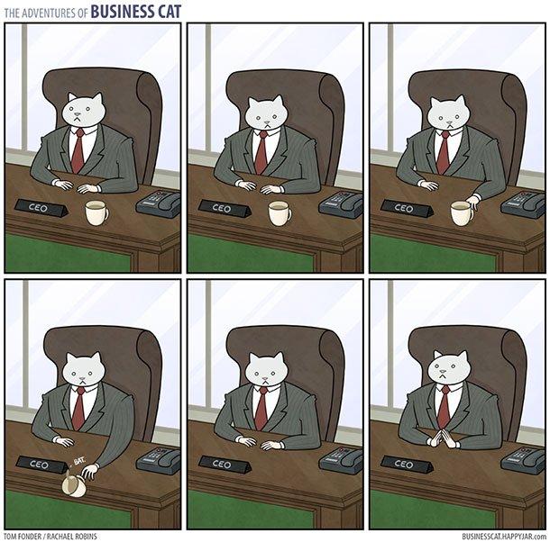 As aventuras do Gato Executivo (3)