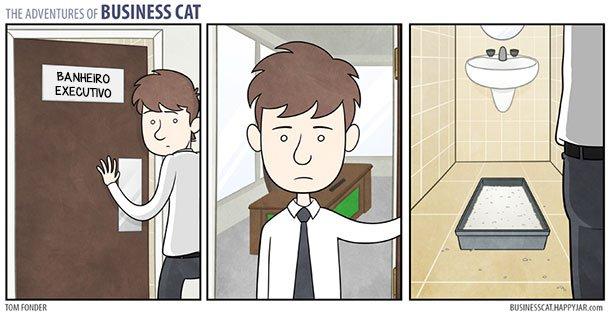 As aventuras do Gato Executivo (4)