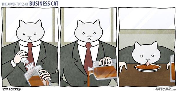 As aventuras do Gato Executivo