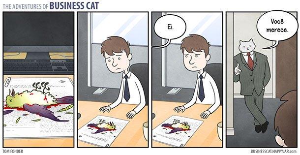 As aventuras do Gato Executivo (6)