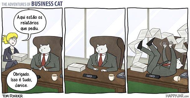 As aventuras do Gato Executivo (7)