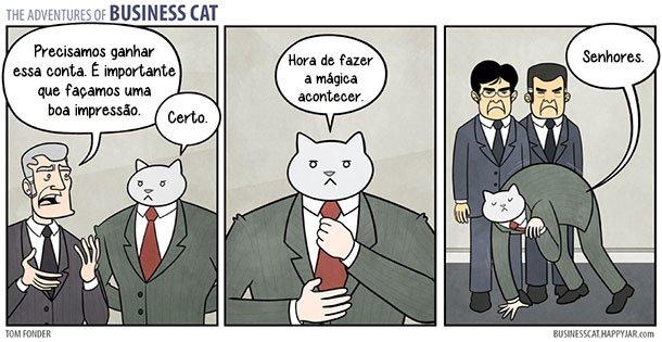 As aventuras do Gato Executivo (9)
