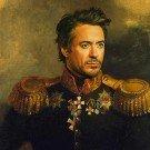 Celebridades em pinturas Neoclássicas (39)