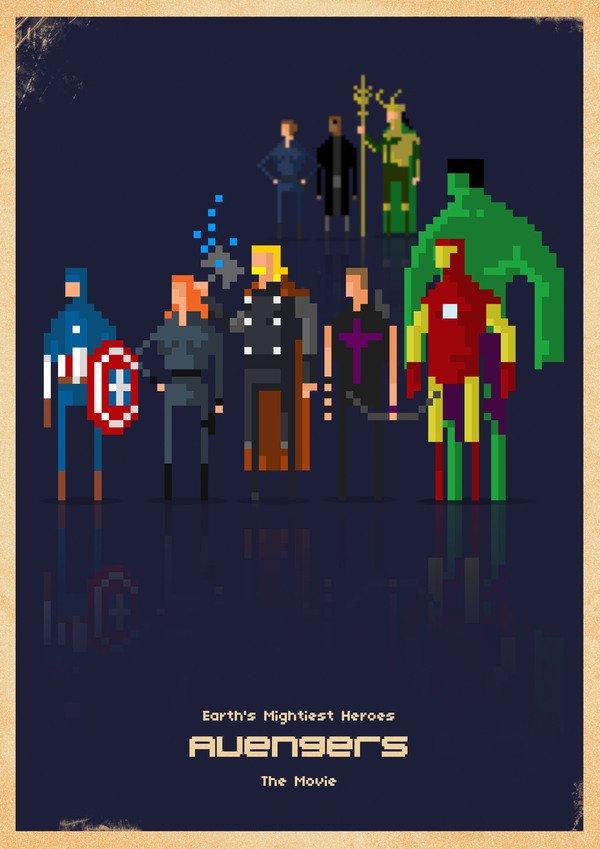 Marvel em 8 bits (3)