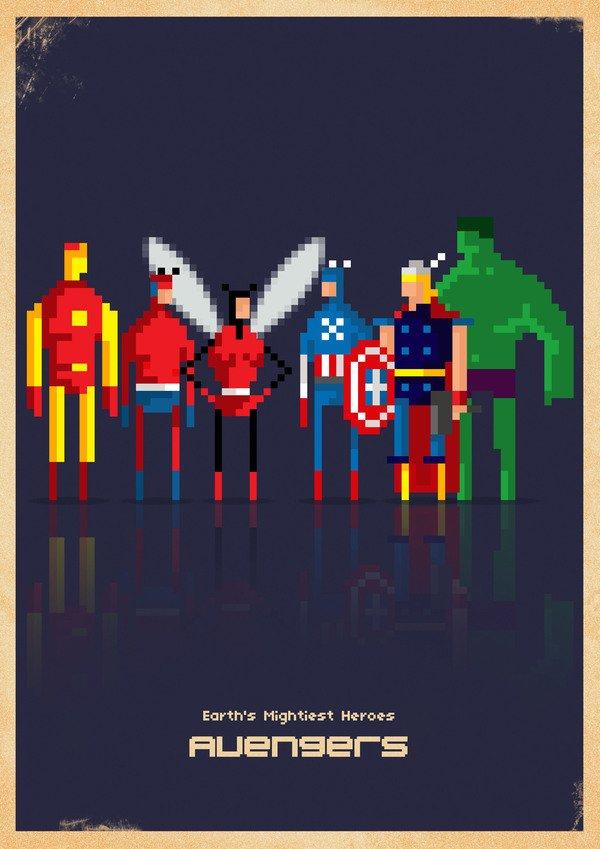 Marvel em 8 bits (4)