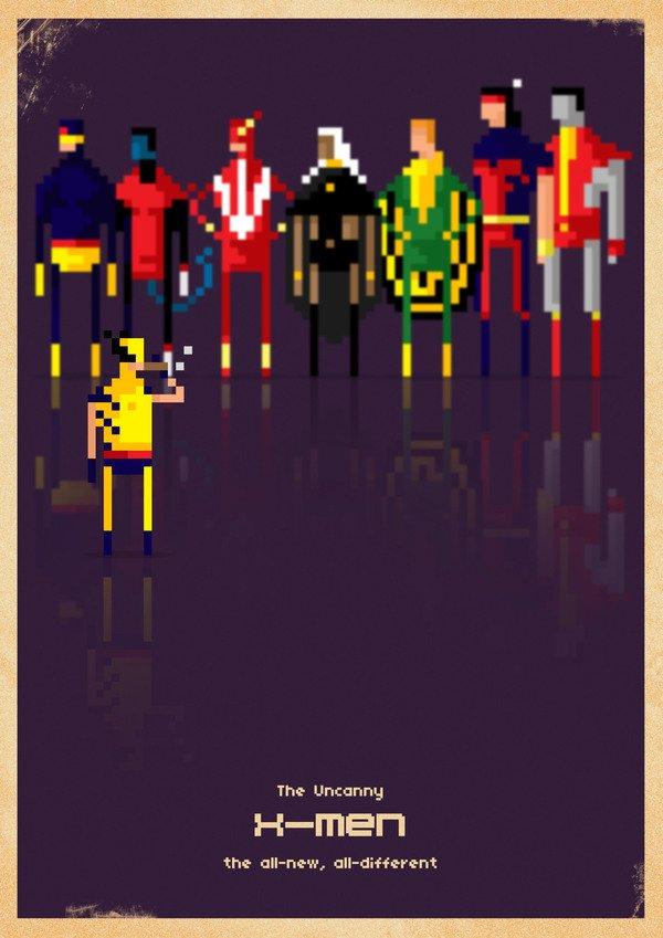 Marvel em 8 bits (6)