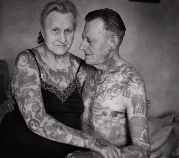 Tatuagem E quando você envelhecer