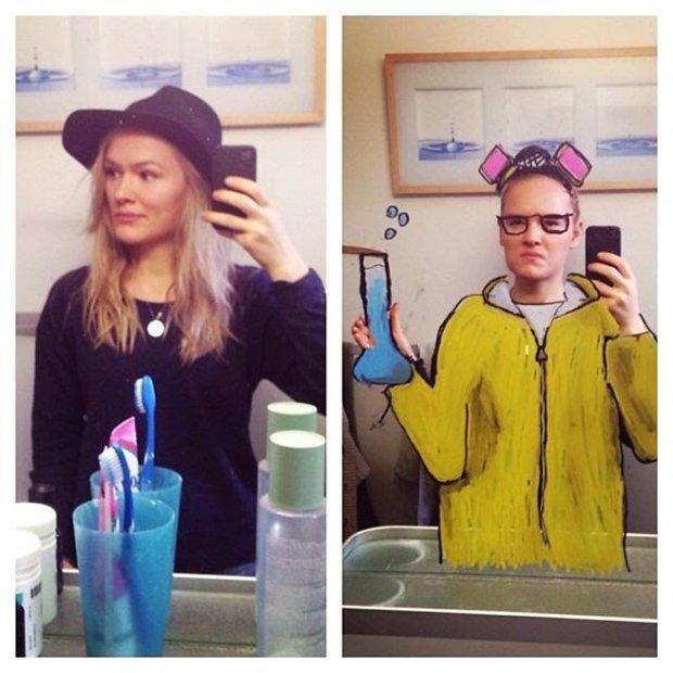 Um jeito diferente de tirar selfies no banheiro (30)