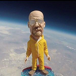 Walter White no espaço thumb