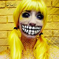 Maquiagens de dar medo
