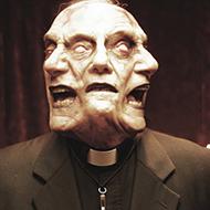 Padre MACABRO, com poderes telecinéticos, quase mata as pessoas de ataque cardíaco