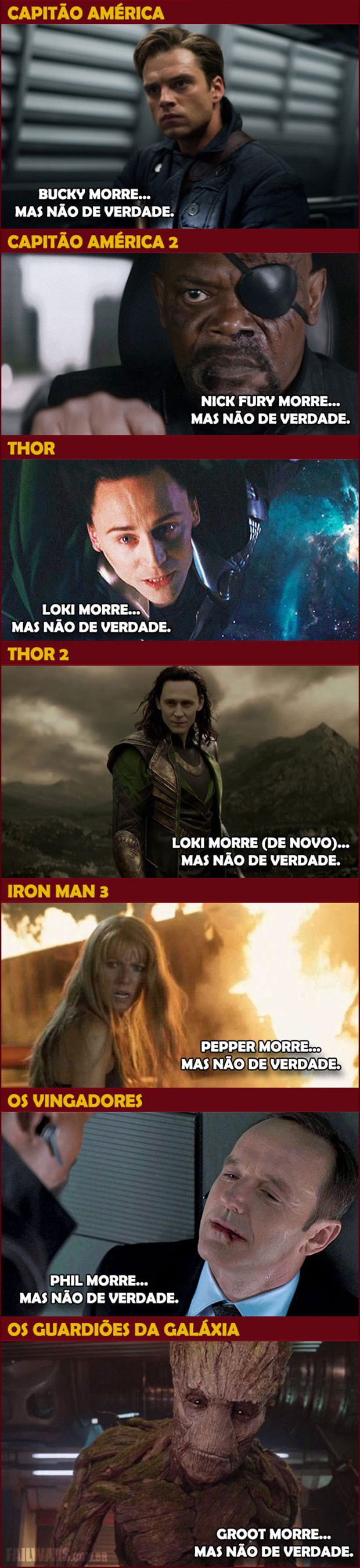 Como resumir os filmes da Marvel de uma forma bem simples 2