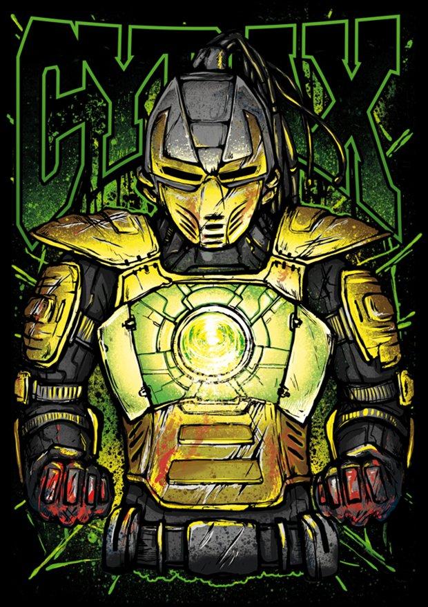 Mortal Kombat por Gleb S. Baker (1)