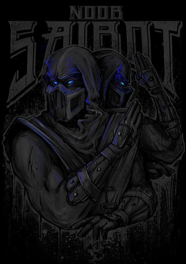 Mortal Kombat por Gleb S. Baker (2)