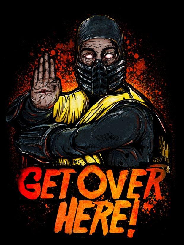 Mortal Kombat por Gleb S. Baker