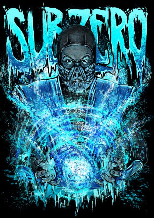 Mortal Kombat por Gleb S. Baker (6)