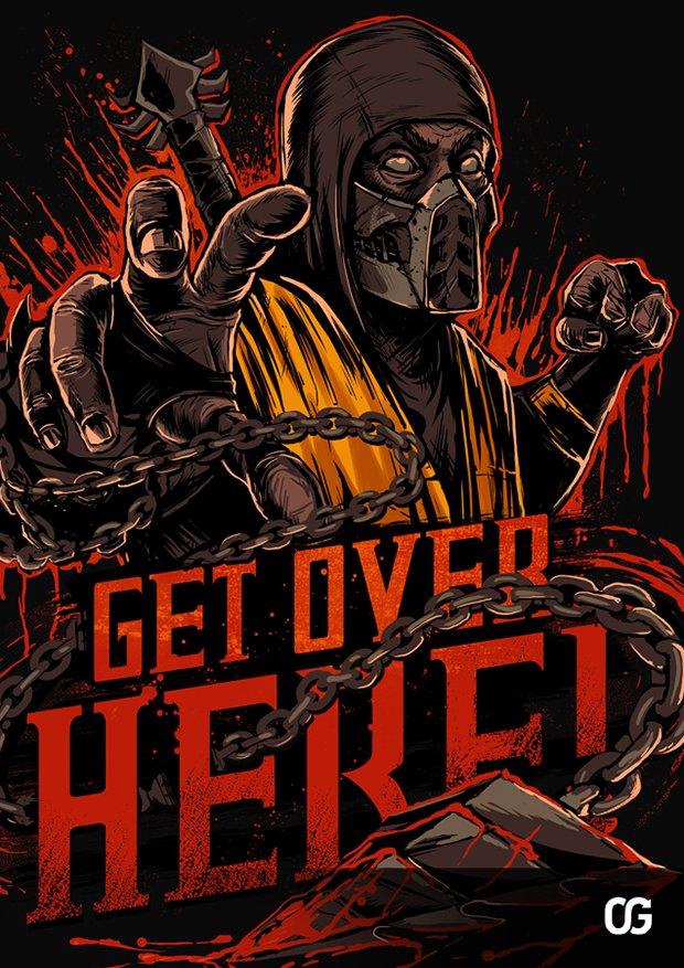 Mortal Kombat por Gleb S. Baker (7)