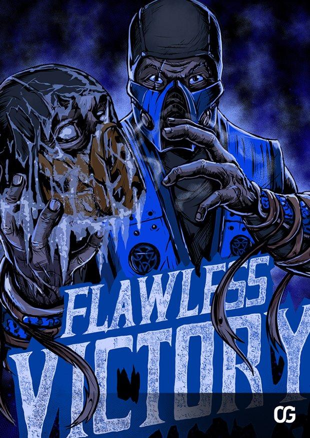 Mortal Kombat por Gleb S. Baker (8)