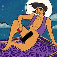 Como são os pênis dos príncipes da Disney