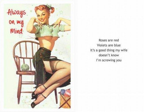 Cartões de comemoração para amantes