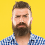 deixar barba crescer