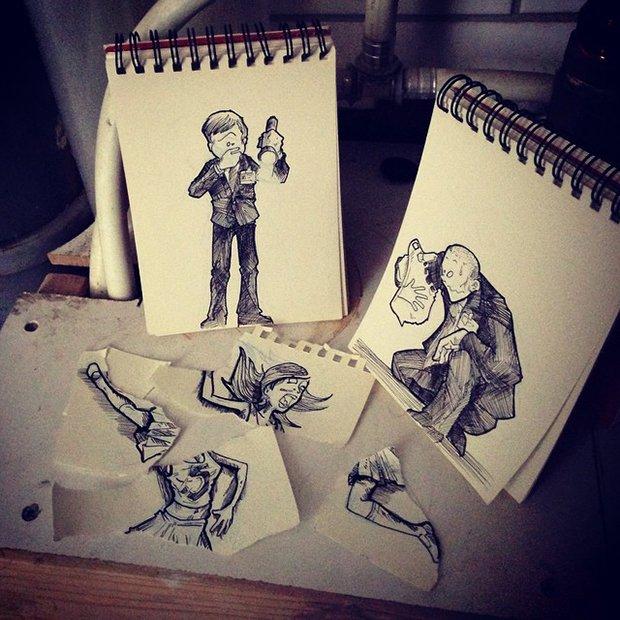 Desenhos que interagem com o cenario (17)