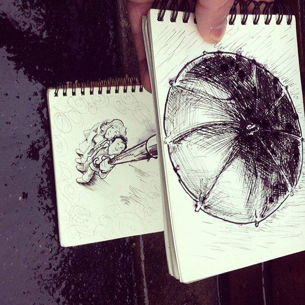Desenhos que interagem com o cenario (2)