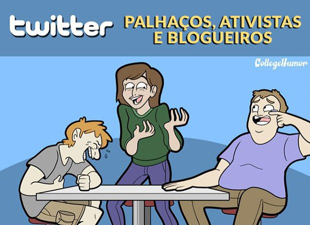 Tipos de público em cada rede social