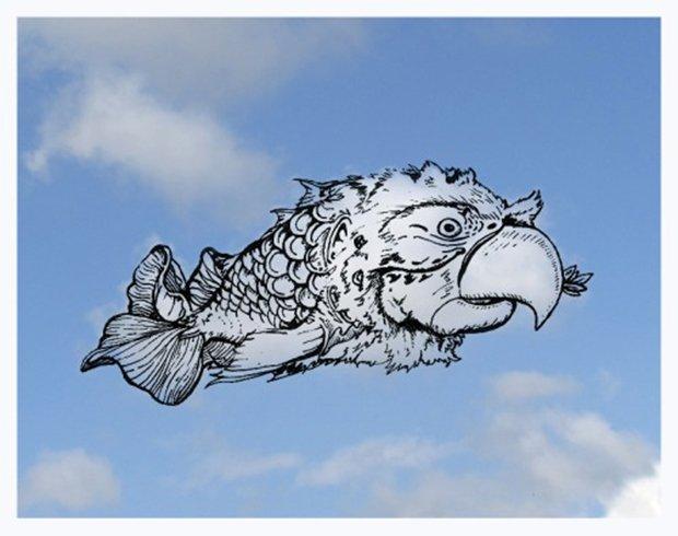 Desenhando nas nuvens (1)