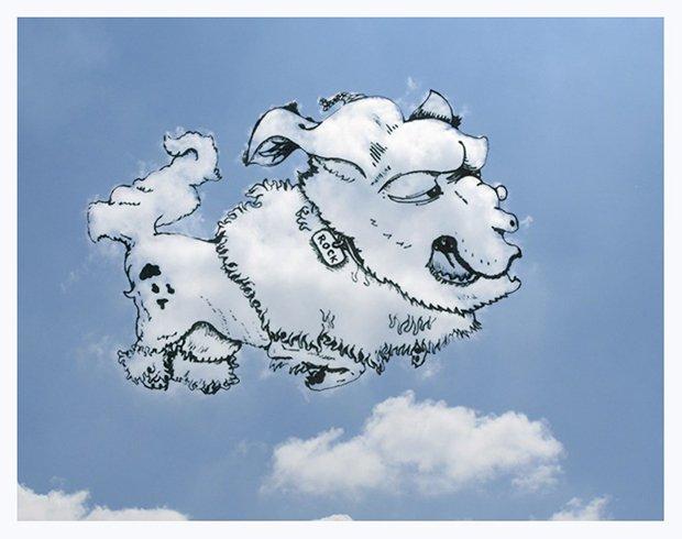 Desenhando nas nuvens (3)