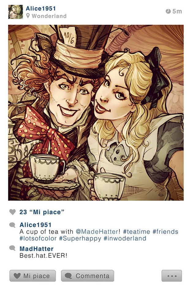 Se os personagens da Disney tivessem Instagram (7)