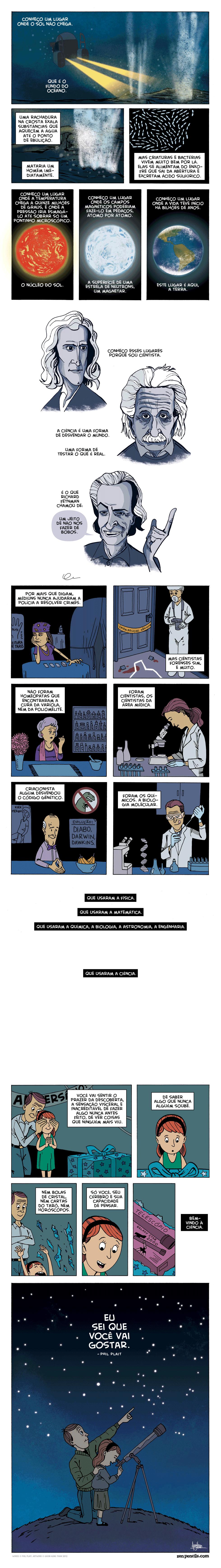 Bem-vindo a ciencia