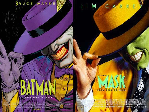 Personagens da DC em posteres de filmes famosos (11)