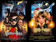 Personagens da DC em posteres de filmes famosos