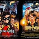 Personagens da DC em posteres de filmes famosos (9)