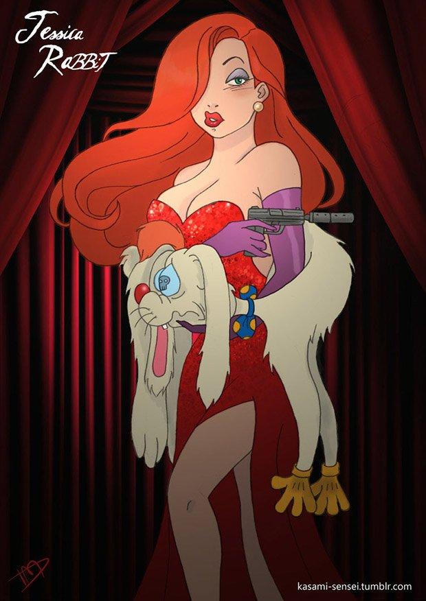 Princesas da Disney transformadas (11)