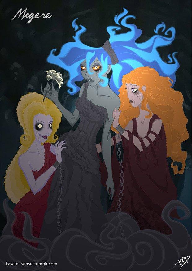 Princesas da Disney transformadas (13)