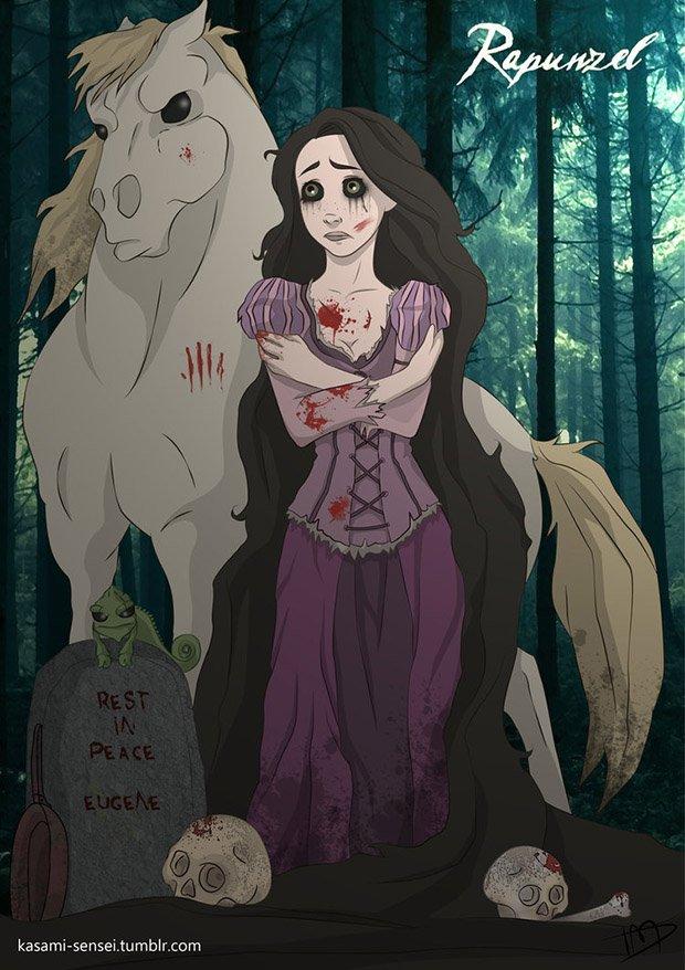 Princesas da Disney transformadas (17)