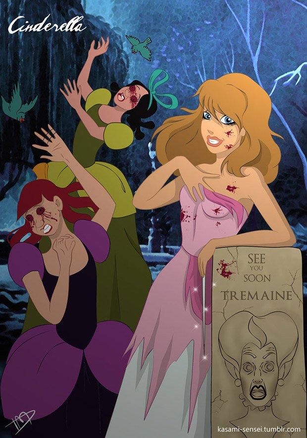 Princesas da Disney transformadas (6)