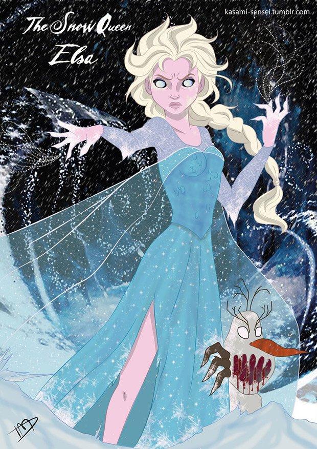 Princesas da Disney transformadas (7)