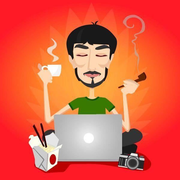 A vida de um designer